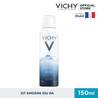 Xịt Khoáng Dưỡng Da VICHY 150ml